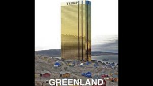 Trump'tan Grönland'a gökdelenli mesaj