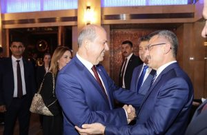 """Ankara'da Kuzey Kıbrıs turizm işbirliği"""" resepsiyonu yapıldı"""