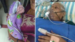 73 yaşındaki kadın ikiz doğurdu 82 yaşındaki baba ertesi gün inme geçirdi