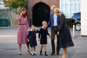 Prenses Charlotte okula başladı