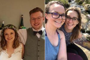 Evlendikten sonra eşcinsel olduklarını fark edip boşandılar