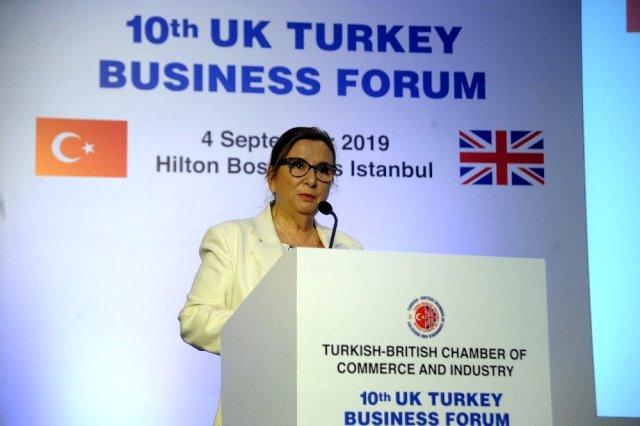 Bakan Pekcan: Anlaşmasız Brexit'in Türkiye'ye maliyeti 3 milyar dolara ulaşabilir