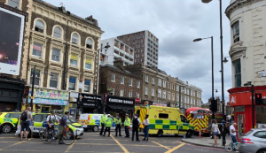 Fatal lorry collision in Dalston