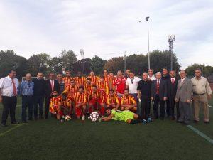 Toplum Kupasının kazananı Dumlupınar Yeni Malatya Spor oldu