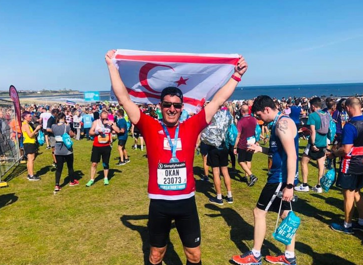 Okan Baysan completes another race