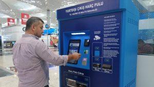 Yurtdışı harç pulu artık otomatlardan alınabilecek