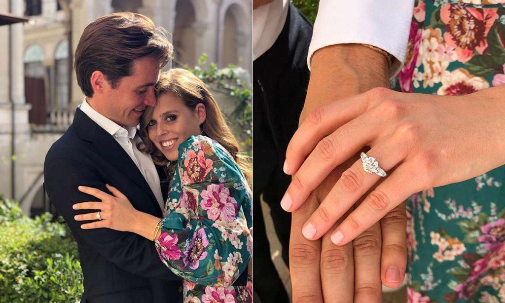 Prenses Beatrice ile Edoardo Mapelli Mozzi nişanlandı