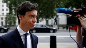 Rory Stewart sacked from the Tory Party while accepting politician of the year award