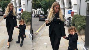 Şarkıcı Gülşen'in oğlu da Londra'da okula başladı