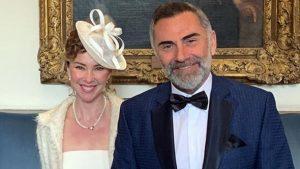 İnci Türkay ve Atilla Saral 11 yılın ardından Londra'da evlendi.