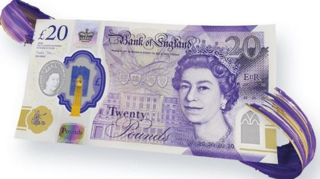 The Bank of England reveals the new £20 design