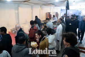 Süleymaniye Mosque held their food bazaar