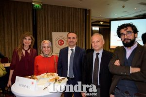 Turkish Embassy's London Education Counsellor held reception for scholarship students