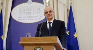 Yunanistan Dışişleri Bakanı'ndan Kıbrıs açıklaması