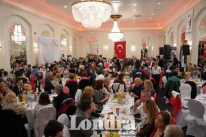 Londoners celebrated Turkey's 96th anniversary of independence
