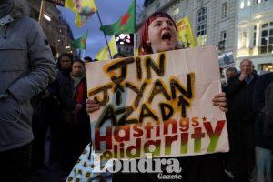 Barış Pınarı Harekatı protestoları devam ediyor
