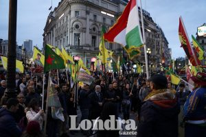 Protests against Operation Peace Spring continues