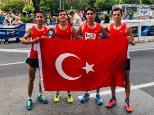 Budapeşte NATO Koşusu'nda Türkiye'ye bronz madalya