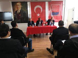 CHP İngiltere Birliği'nde 'Barış Pınarı' gerilimi