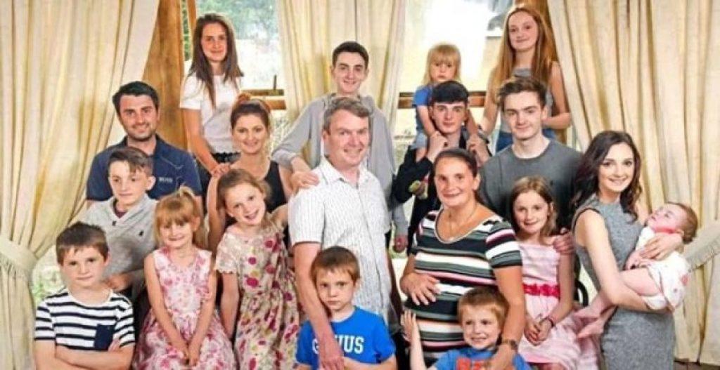 İngiliz çift 22'nci çocuğunu bekliyor