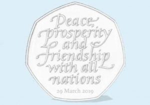 Treasury to recycle 50p coins marking Brexit