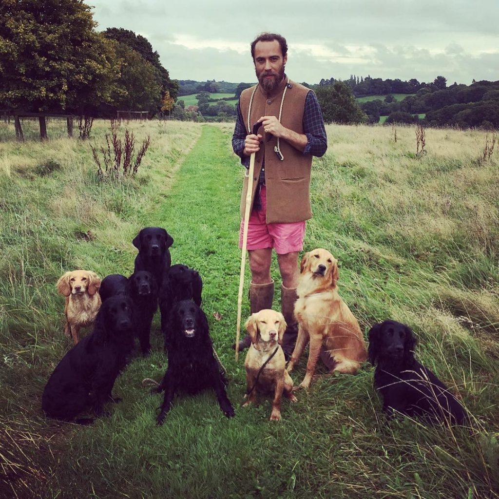 Kate Middleton'ın kardeşi James Middleton köy hayatından mutlu