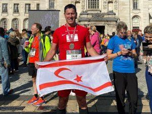 Okan Baysan completes two half marathons in 1 week