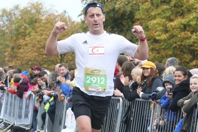 Okan Baysan 7 günde iki yarı maraton koştu