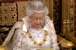 The Queen opens a new session of Parliament