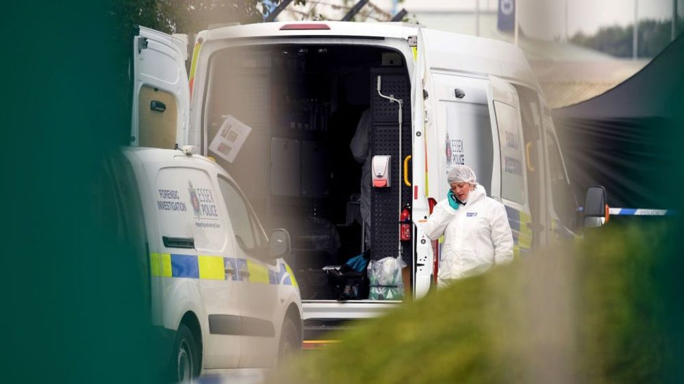 Essex lorry deaths: man and woman held on suspicion of manslaughter