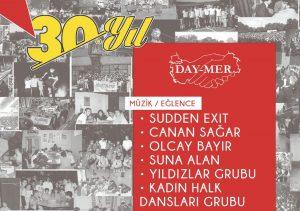 Day-Mer 30. yılını büyük etkinlikle kutlayacak