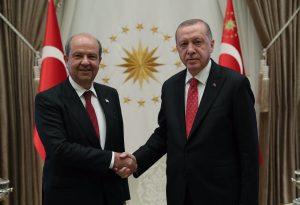 KKTC Başbakanı Tatar, Erdoğan'ın müjdesini yerinde dinleyecek