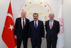 Türkiye ile İngiltere arasında sağlık alanında iş birliği