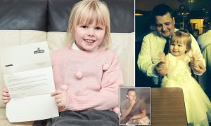 Ölen babasına mektup yazan küçük kız beklenmedik bir yanıt aldı