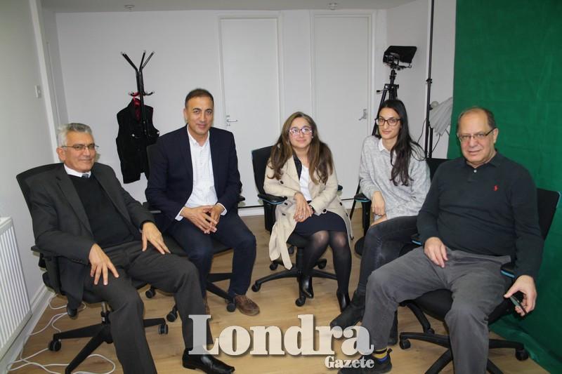 İşçi Partisi milletvekili adayı Feyal Clark Londra Gazete'yi ziyaret etti