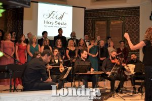 The Hos Seda Classical Music Choir performed 'Melodies from Istanbul'