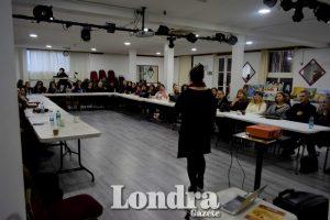Kadına karşı şiddete farkındalık için Londra'da etkinlik düzenlendi