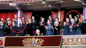 Kraliyet Ailesi içindeki soğukluğun fotoğrafı