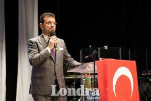 Ekrem İmamoğlu met with Londoners