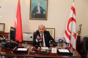 """KKTC Başbakanı Tatar:  """"7 gün karantinaya gerek yok görüşündeyim"""""""