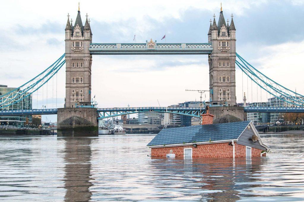 """""""Evler su altında kalacak"""""""