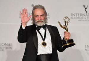 Turkish actor Haluk Bilginer wins Emmy Award