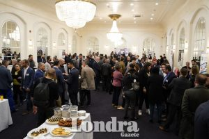 Business people gathered at MÜSİAD UK event