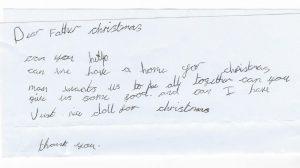 Noel Baba'dan ev ve oyuncak bebek isteyen 7 yaşındaki evsiz kıza yardım yağıyor