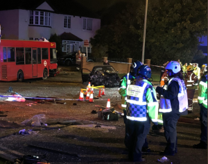 Orpington crash: 1 killed, 15 injured and 1 arrested