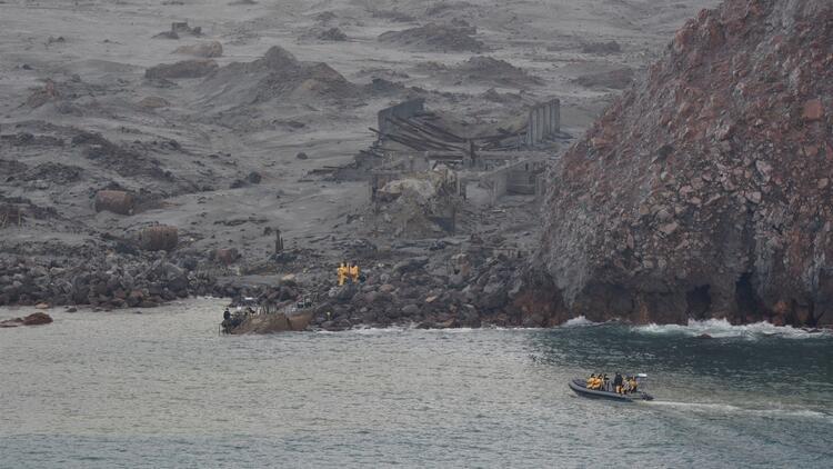 Yeni Zelanda'daki yanardağ patlamasında ölü sayısı 19'a yükseldi