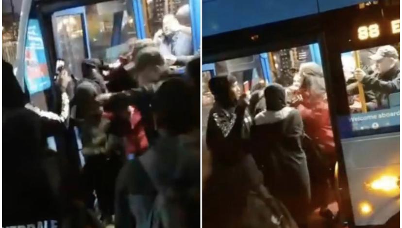 14 yaşındaki Müslüman kız çocuğuna ırkçı saldırı