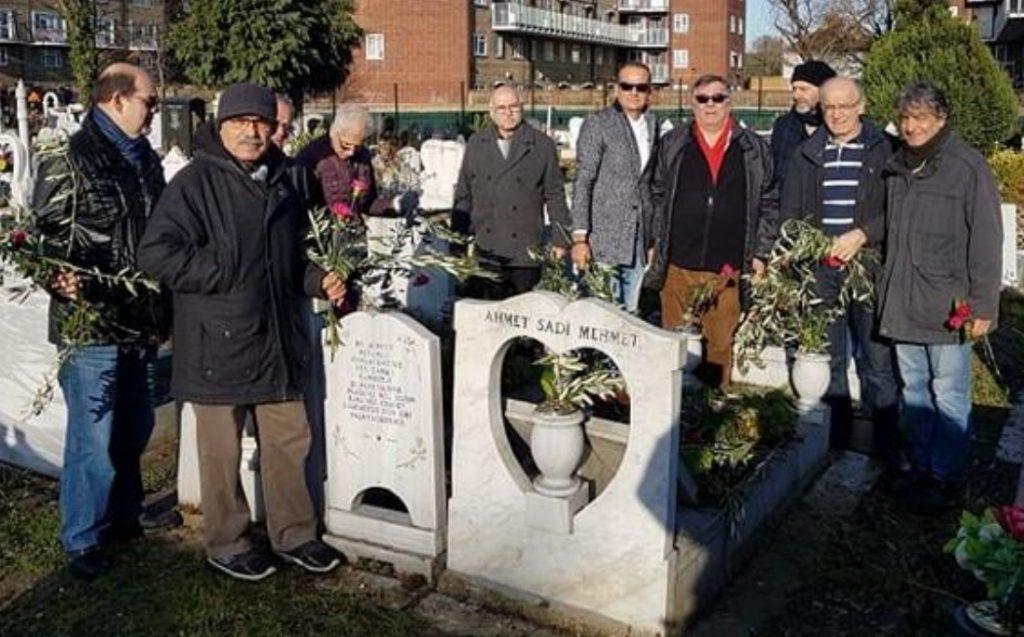 Commemoration held at Tottenham Park Cemetery