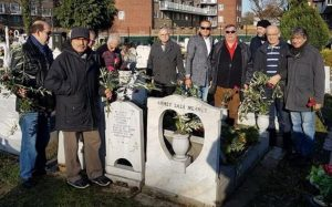 Commemoration held at Tottenham Park Cemetery