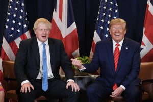 """Trump ve Johnson'dan """"serbest ticaret"""" hedefi"""